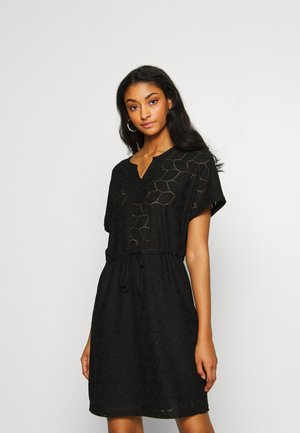 JDYTAG BELT DRESS - Gebreide jurk - black