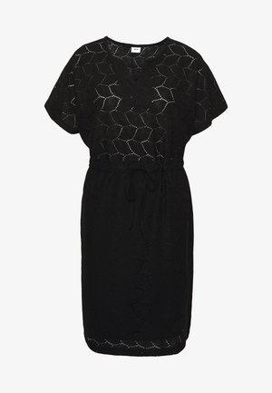 JDYTAG BELT DRESS - Strikket kjole - black