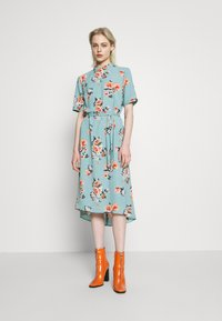 JDY - JDYPIPER HIGHNECK DRESS - Kjole - chinois green - 0