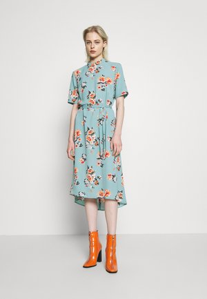 JDYPIPER HIGHNECK DRESS - Korte jurk - chinois green