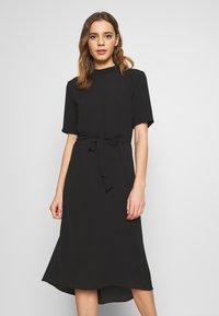 JDY - JDYPIPER HIGHNECK DRESS - Kjole - black - 0
