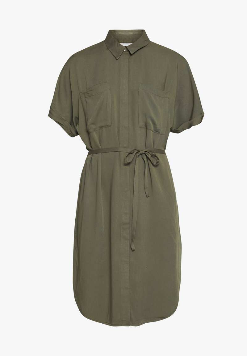 JDY JDYRICKS PLACKET DRESS - Skjortekjole - kalamata