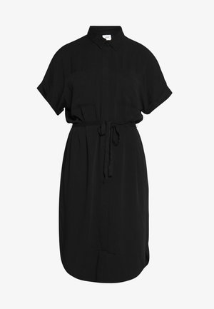 JDYRICKS PLACKET DRESS  - Skjortklänning - black