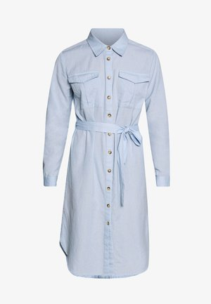 JDYTULIP DRESS - Shirt dress - chambray blue