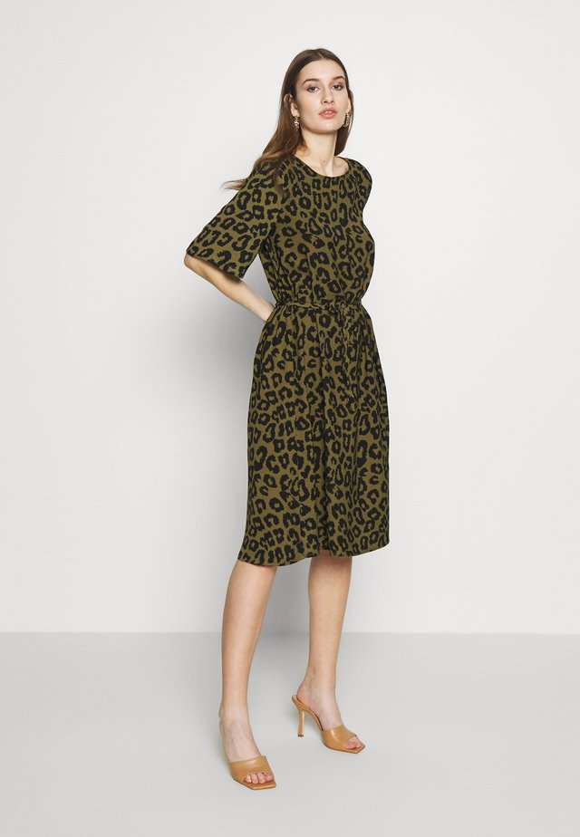JDYSEDA  - Day dress - martini olive/black