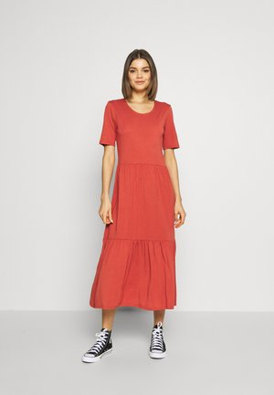 JDYDALILA FROSTY DRESS - Maxi-jurk - hot sauce