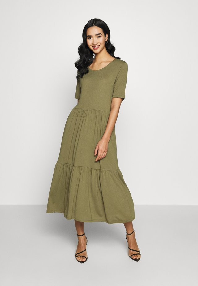 JDYDALILA FROSTY DRESS - Maxi-jurk - martini olive