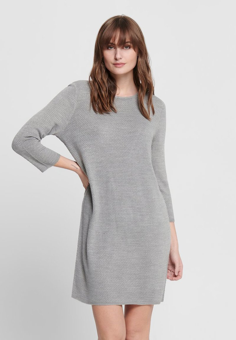 JDY - Jumper dress - light grey melange