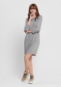 JDY - Jumper dress - light grey melange - 1