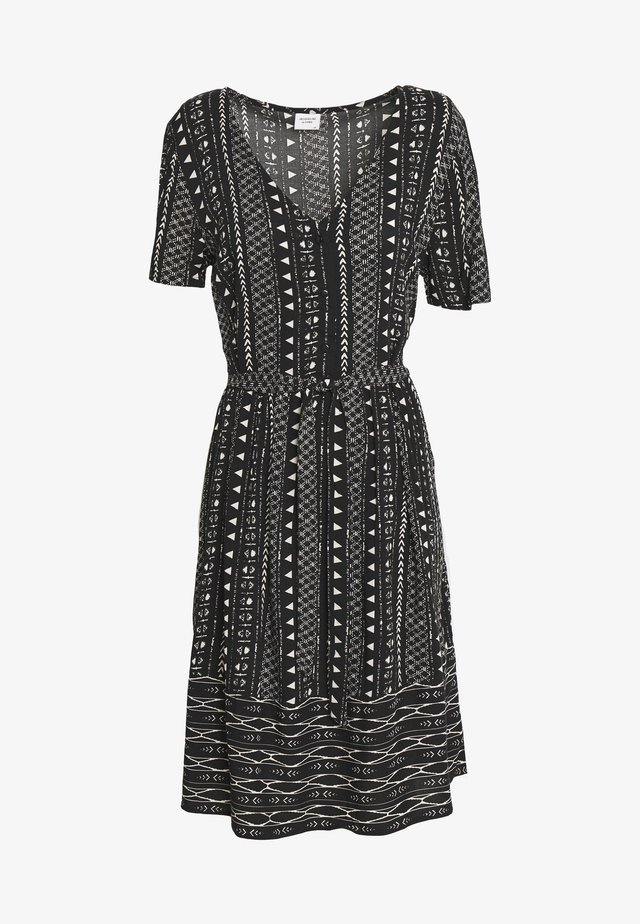 JDYTIFFANY DRESS - Abito a camicia - black/sandshell