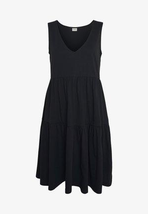 JDYFENNA LIFE V NECK DRESS - Jerseykjole - black