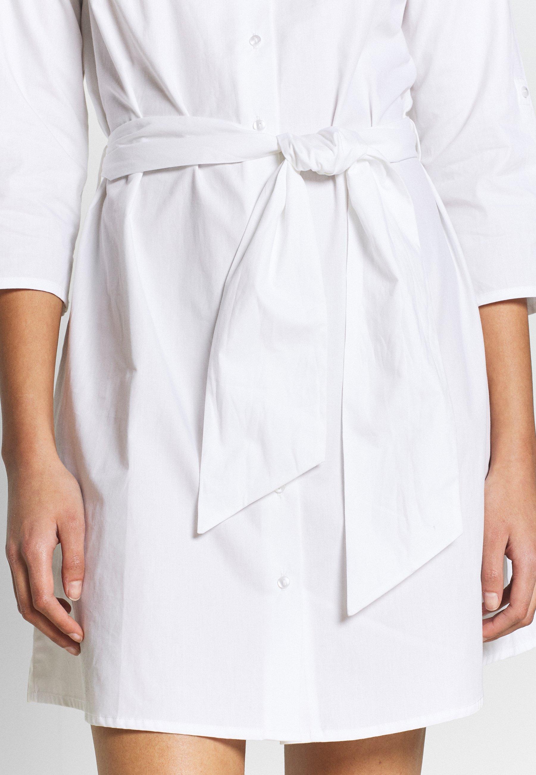 JDY JDYHALL DRESS - Sukienka koszulowa - white