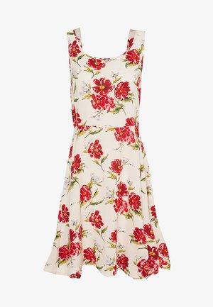 JDYSTARR LIFE STRAP DRESS - Denní šaty - shell/barbados cherry