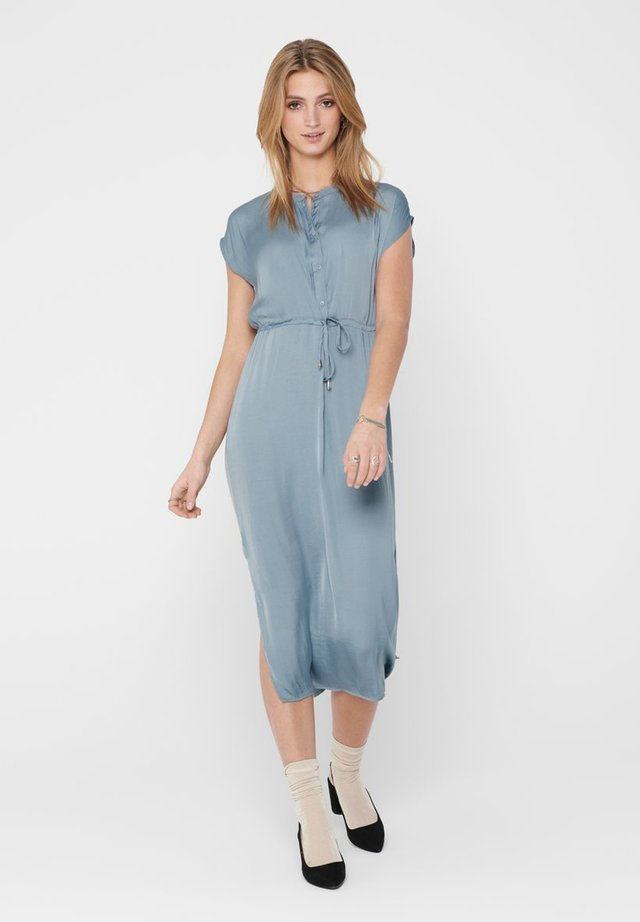BLUSENKLEID LANGES - Korte jurk - faded denim