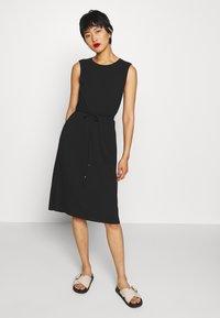 JDY - JDYMATUNNA DRESS - Jerseyjurk - black - 0