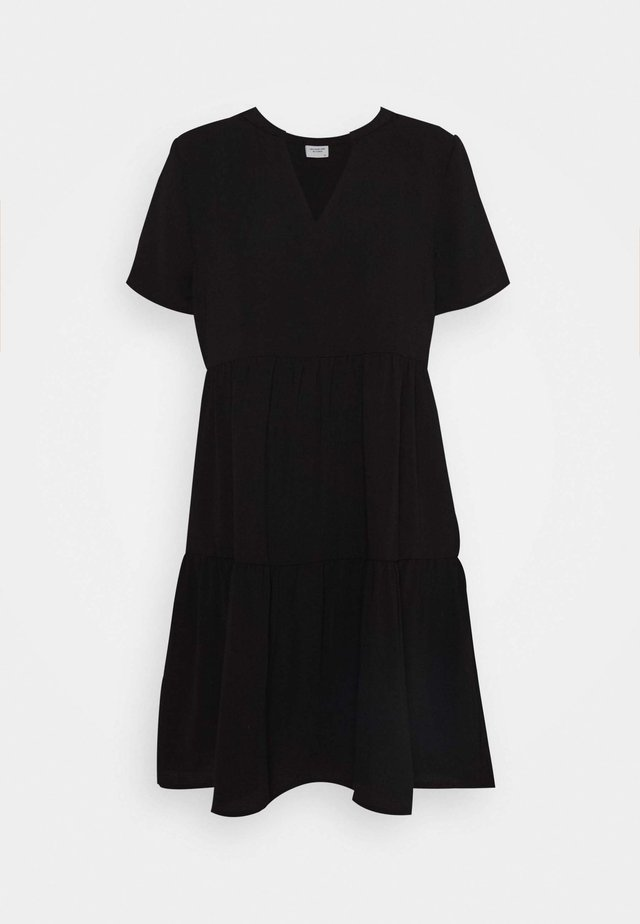 JDYLION LAYER DRESS - Denní šaty - black