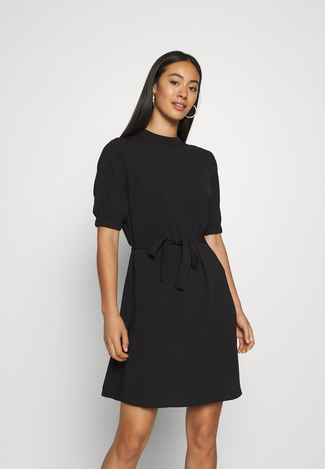 JDYLION HIGHNECK DRESS - Kjole - black