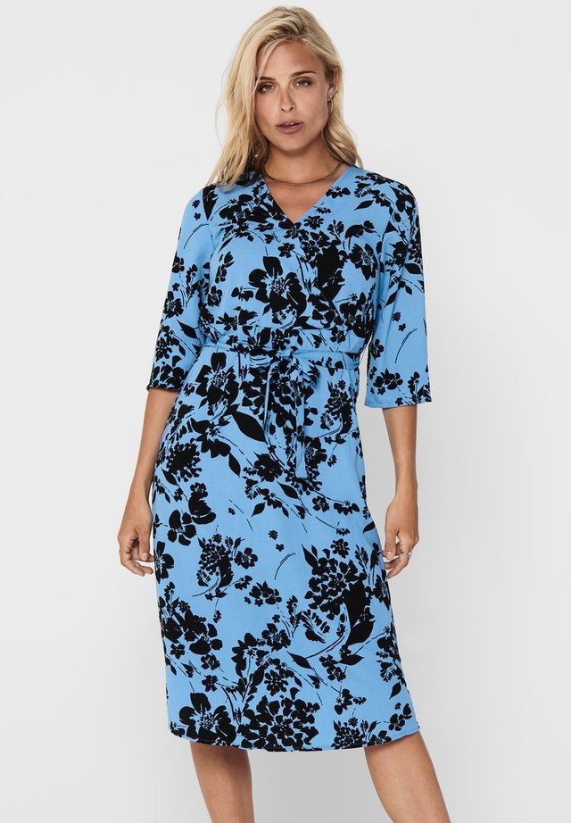 Sukienka letnia - silver lake blue
