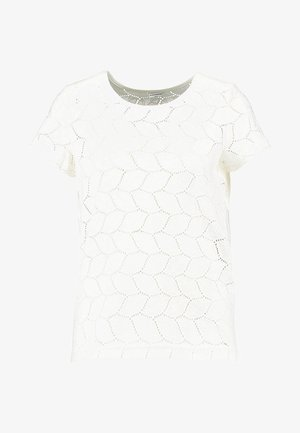 JDYTAG  - T-shirt con stampa - cloud dancer