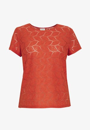 JDYTAG  - T-shirts med print - chili