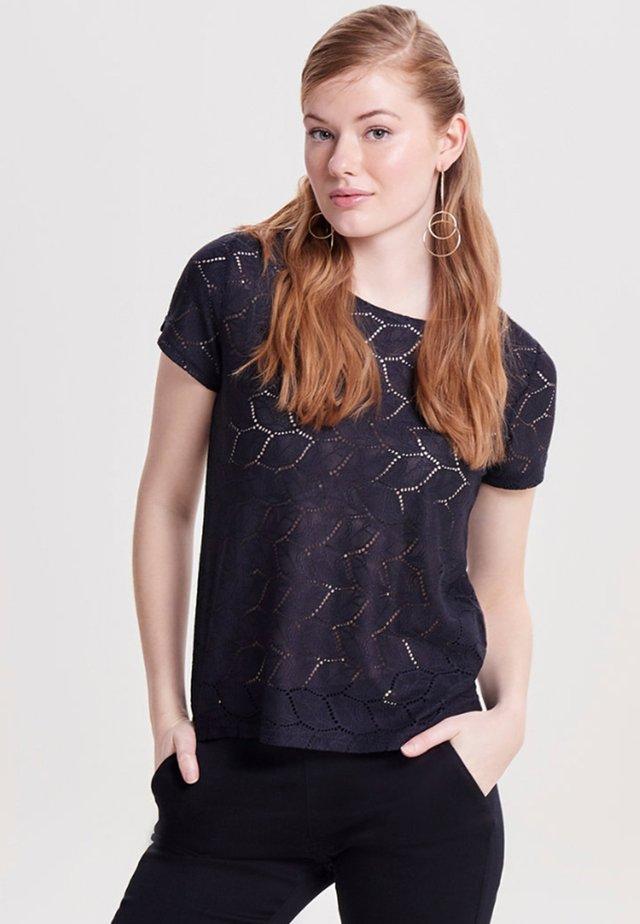 JDYTAG  - Print T-shirt - dark blue