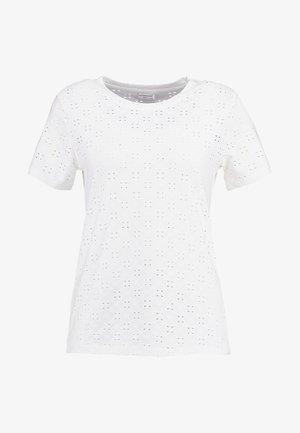 JRS NOOS - T-shirt con stampa - cloud dancer
