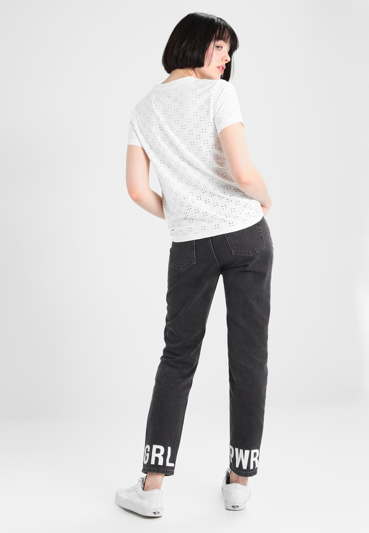JDY JDYCATHINKA - T-shirts med print - cloud dancer