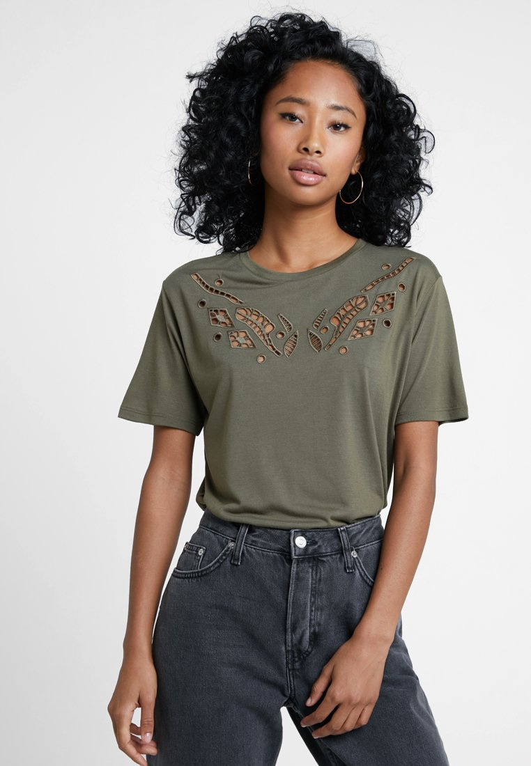 JDY - JDYTORA - Print T-shirt - kalamata