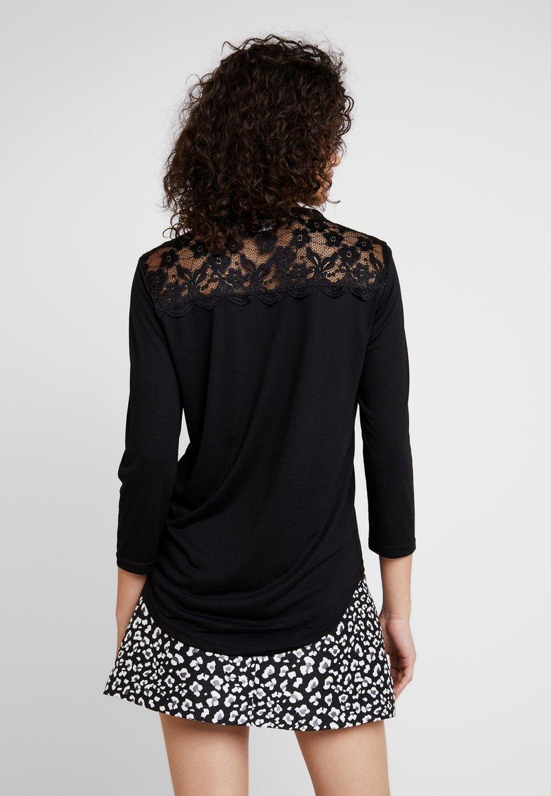 JDY - JDYKIM TREATS - T-shirt à manches longues - black