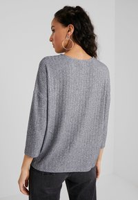 JDY - JDYCLAUDIA - Long sleeved top - light grey melange - 2