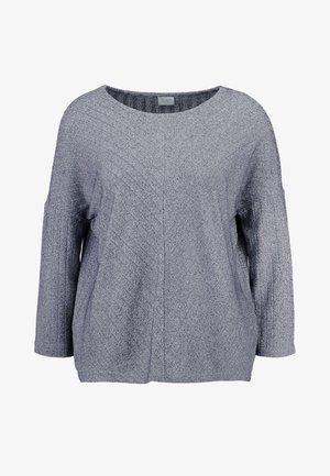 JDYCLAUDIA - Long sleeved top - light grey melange