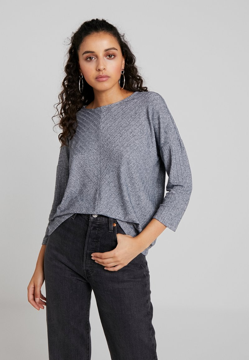 JDY - JDYCLAUDIA - Langarmshirt - light grey melange