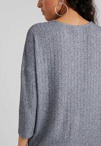 JDY - JDYCLAUDIA - Long sleeved top - light grey melange - 4