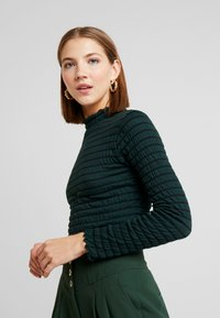JDY - JDYSHILDA HIGHNECK - Long sleeved top - scarab - 5
