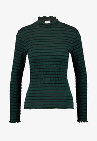 JDY - JDYSHILDA HIGHNECK - Long sleeved top - scarab