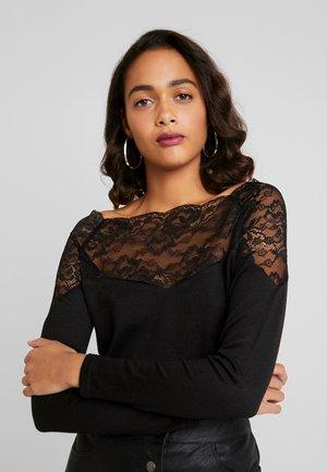 JDYKAKI - T-shirt à manches longues - black