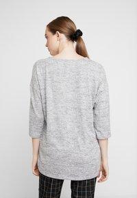 JDY - Pitkähihainen paita - light grey melange - 2