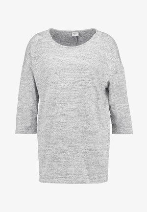 Bluzka z długim rękawem - light grey melange