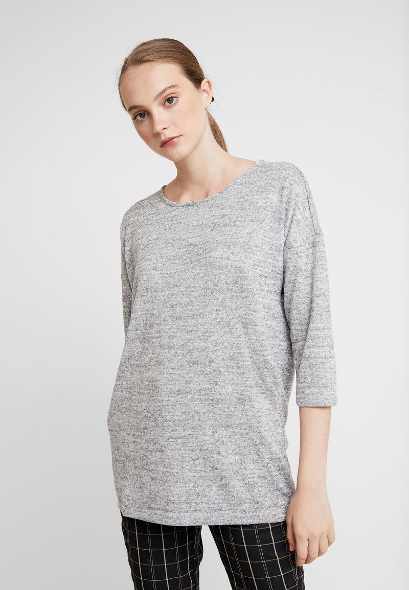 JDY - Pitkähihainen paita - light grey melange