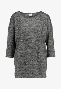 JDY - Pitkähihainen paita - dark grey melange - 3
