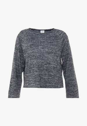 Maglietta a manica lunga - dark grey melange