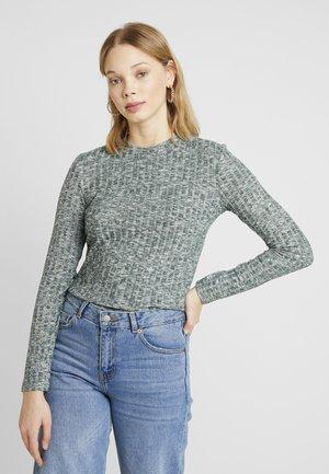 JDYMELISA - Sweter - scarab/melange