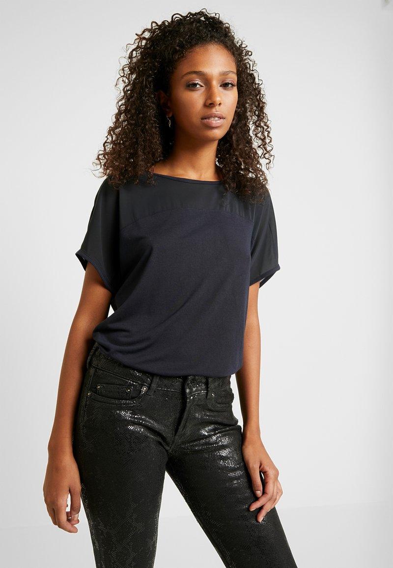 JDY - JDYAMANDA - T-Shirt print - dark navy