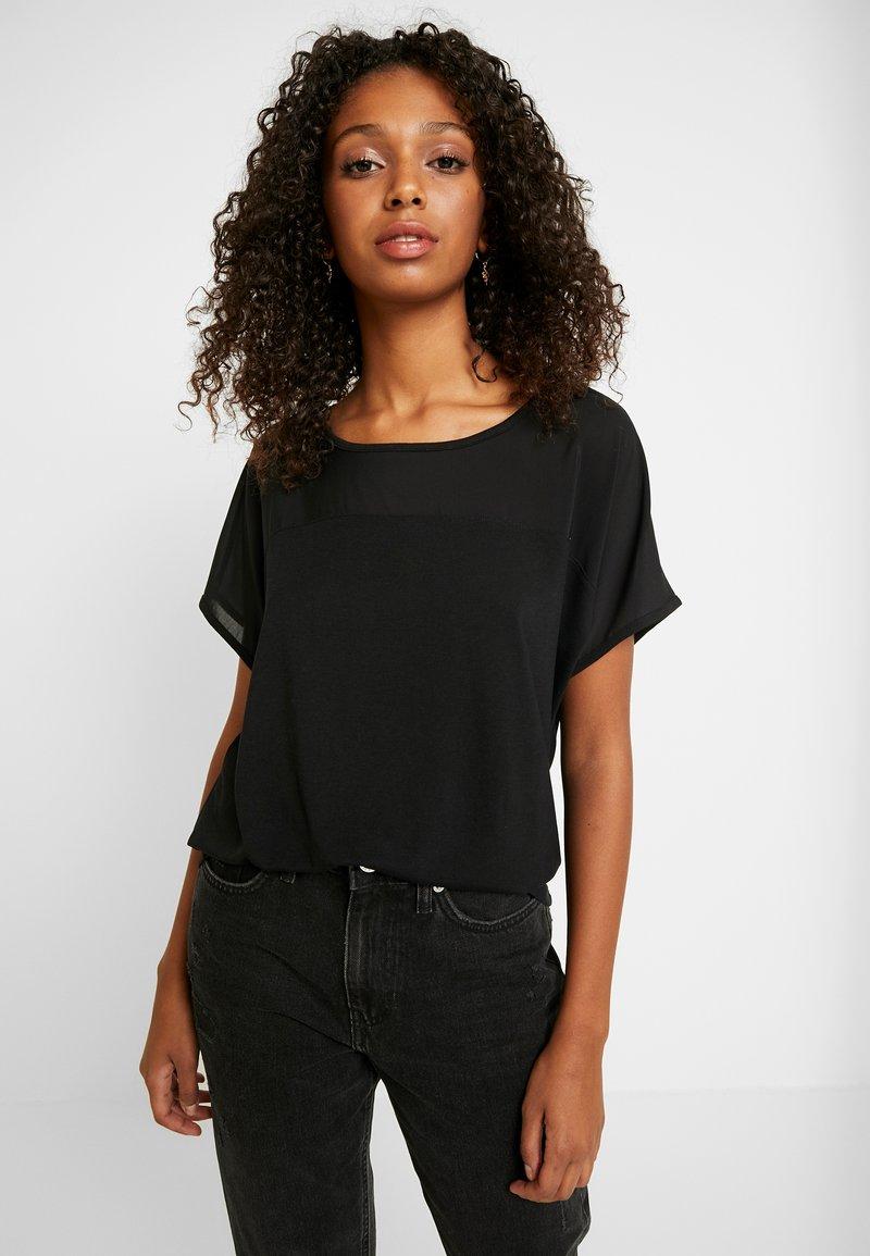 JDY - JDYAMANDA - T-shirt med print - black