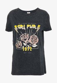 JDY - Camiseta estampada - black - 4