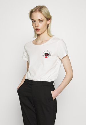 JDYFUTURE LIFE - T-shirt con stampa - white