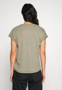 JDY - JDYLINE - T-shirt basic - martini olive/melange - 2
