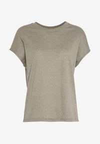 JDY - JDYLINE - T-shirt basic - martini olive/melange - 3