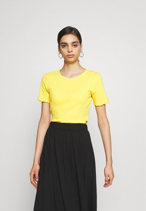JDYMAIKEN - T-shirt basic - super lemon