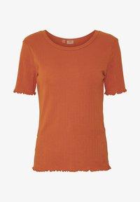 JDY - JDYMAIKEN - T-shirts basic - hot sauce - 4
